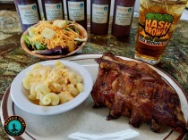 BBQ Ribs, Pimento Mac & Cheese, Garden Salad, Sweet Tea